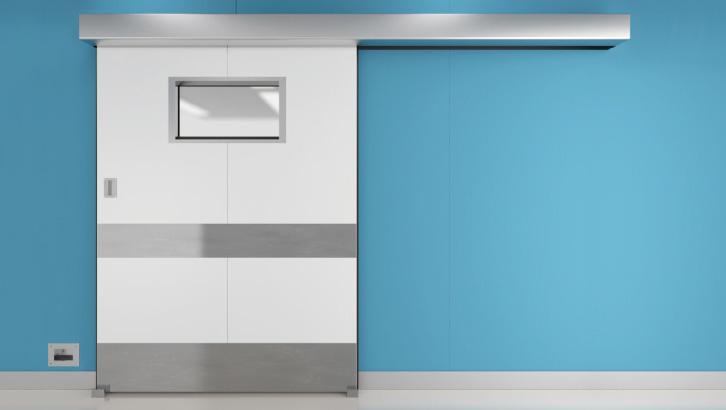 Cửa tự động Bệnh Viện NAX
